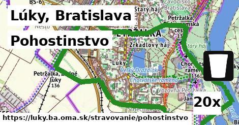 pohostinstvo v Lúky, Bratislava