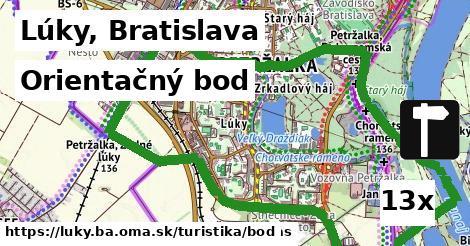 orientačný bod v Lúky, Bratislava
