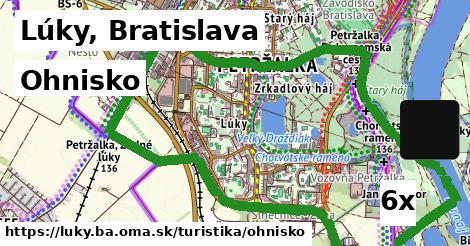 ohnisko v Lúky, Bratislava