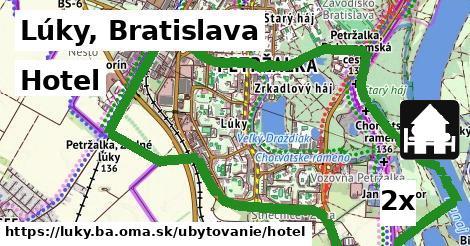 hotel v Lúky, Bratislava