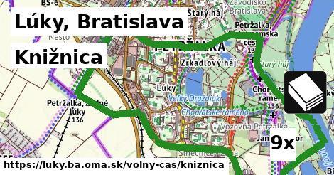 ilustračný obrázok k Knižnica, Lúky, Bratislava