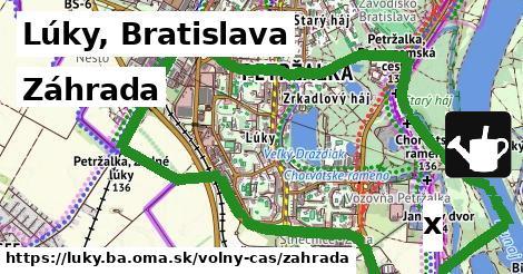 záhrada v Lúky, Bratislava