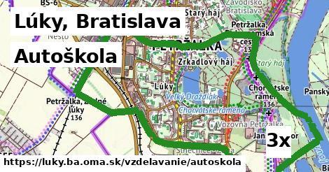 autoškola v Lúky, Bratislava