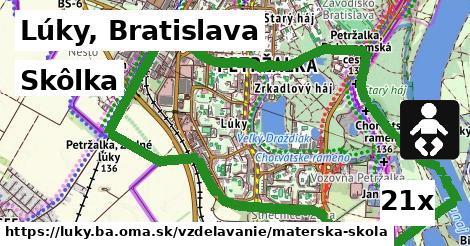 skôlka v Lúky, Bratislava
