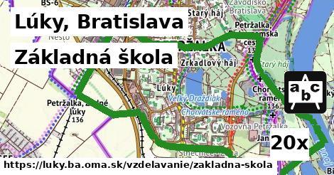 základná škola v Lúky, Bratislava