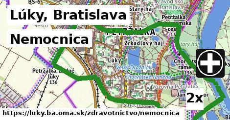 nemocnica v Lúky, Bratislava