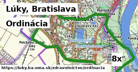ordinácia v Lúky, Bratislava