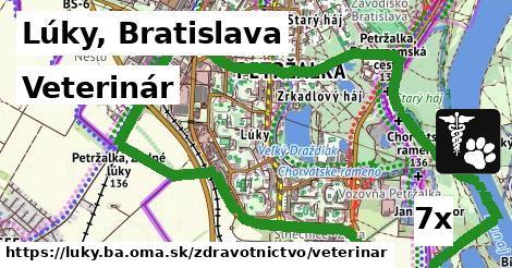 veterinár v Lúky, Bratislava