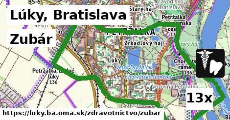 zubár v Lúky, Bratislava
