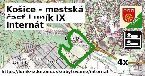 ilustračný obrázok k Internát, Košice - mestská časť Luník IX