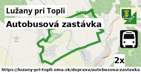 ilustračný obrázok k Autobusová zastávka, Lužany pri Topli