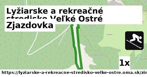 ilustračný obrázok k Zjazdovka, Lyžiarske a rekreačné stredisko Veľké Ostré