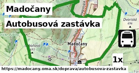 ilustračný obrázok k Autobusová zastávka, Madočany