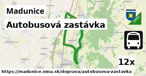 ilustračný obrázok k Autobusová zastávka, Madunice