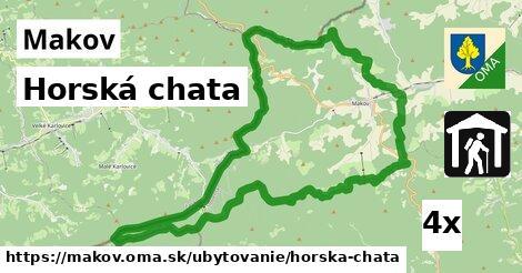 ilustračný obrázok k Horská chata, Makov