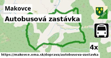 ilustračný obrázok k Autobusová zastávka, Makovce