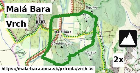 ilustračný obrázok k Vrch, Malá Bara
