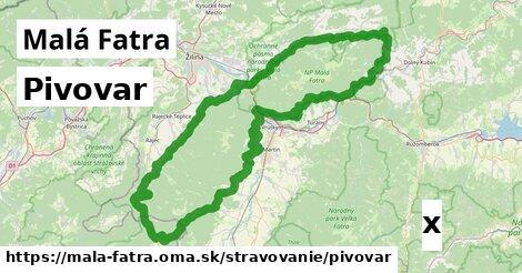 ilustračný obrázok k Pivovar, Malá Fatra