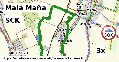 SCK v Malá Maňa