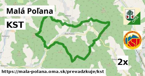 ilustračný obrázok k KST, Malá Poľana