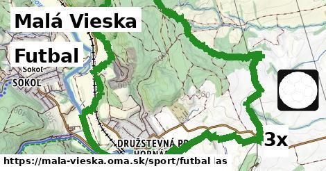 futbal v Malá Vieska
