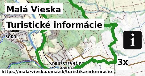 turistické informácie v Malá Vieska