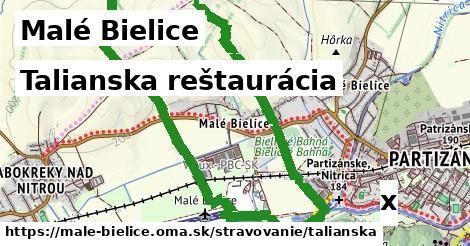 talianska reštaurácia v Malé Bielice