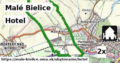 hotel v Malé Bielice