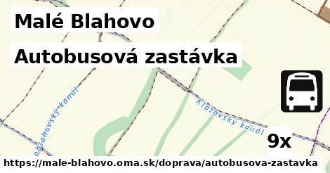 ilustračný obrázok k Autobusová zastávka, Malé Blahovo