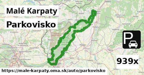 ilustračný obrázok k Parkovisko, Malé Karpaty