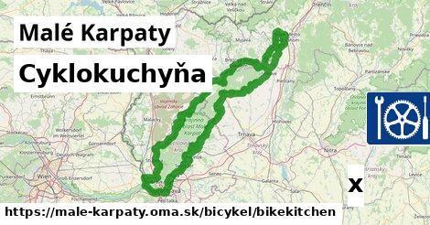cyklokuchyňa v Malé Karpaty