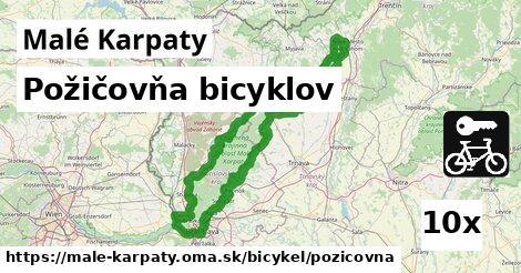 požičovňa bicyklov v Malé Karpaty
