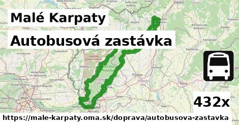 ilustračný obrázok k Autobusová zastávka, Malé Karpaty