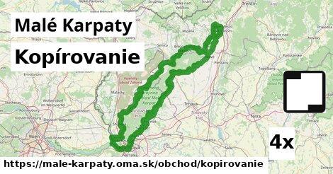 kopírovanie v Malé Karpaty