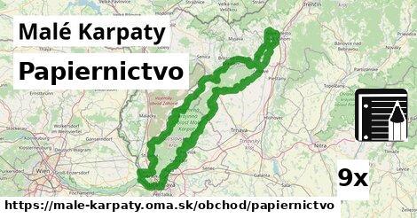 papiernictvo v Malé Karpaty