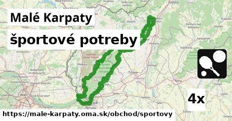 športové potreby v Malé Karpaty