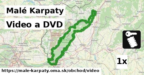 video a DVD v Malé Karpaty