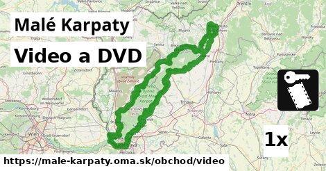 video a DVD v Malé Karpaty