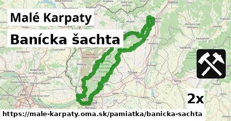 ilustračný obrázok k Banícka šachta, Malé Karpaty