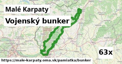 vojenský bunker v Malé Karpaty