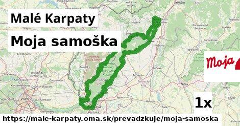 Moja samoška v Malé Karpaty