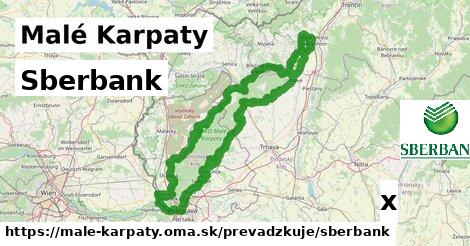 Sberbank v Malé Karpaty