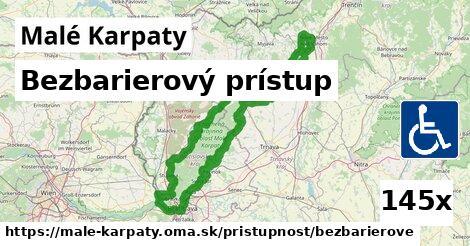 ilustračný obrázok k Bezbarierový prístup, Malé Karpaty