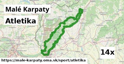 ilustračný obrázok k Atletika, Malé Karpaty