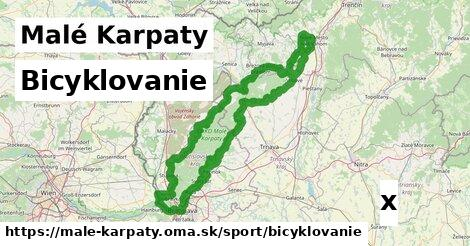 ilustračný obrázok k Bicyklovanie, Malé Karpaty