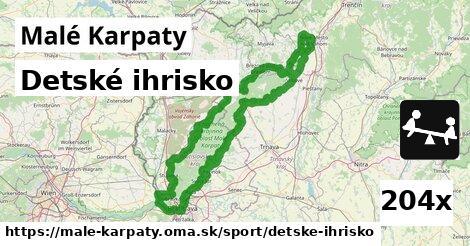 ilustračný obrázok k Detské ihrisko, Malé Karpaty