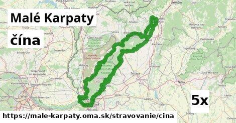 ilustračný obrázok k čína, Malé Karpaty