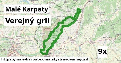 ilustračný obrázok k Verejný gril, Malé Karpaty