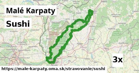 ilustračný obrázok k Sushi, Malé Karpaty