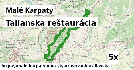 ilustračný obrázok k Talianska reštaurácia, Malé Karpaty